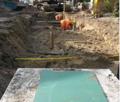 Rioleringswerkzaamheden Hofstraat en Bovendonksestraat te Hoeven