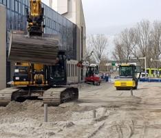 Herinrichting Omgeving Station Nieuwland te Schiedam